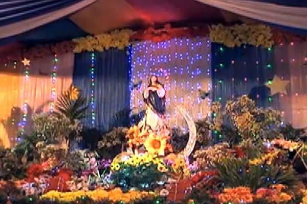 Altares a la Concepción de María