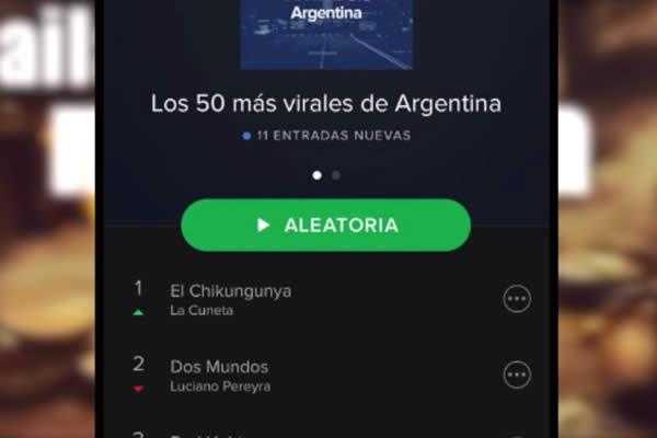 La Cuneta Son Machin está entre los más virales de Spotify