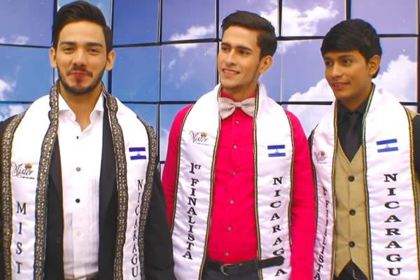 Entrevista a Mister Nicaragua 2016 y los 2 finalistas