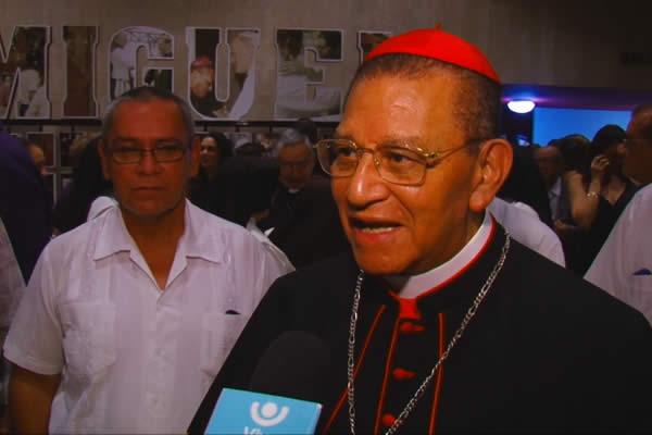 """UNICA celebra los 90 años del Cardenal Miguel con obra """"Tiempos de Fe"""""""