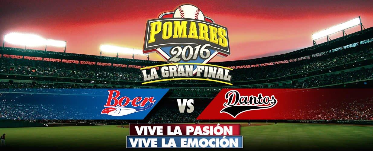 Final Liga Germán Pomares Ordóñez