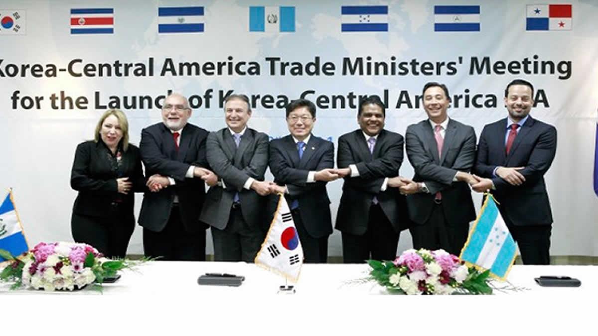 Centroamérica y Corea del Sur culminan negociaciones TLC