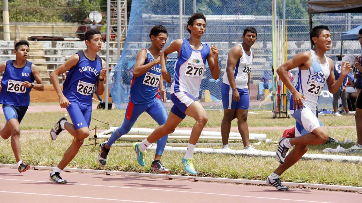 Campeonato Centroamericano de Atletismo Infantil A y Juvenil C con la participación de 262 atletas
