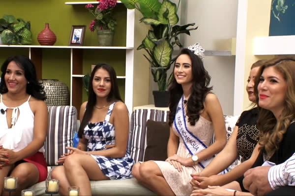 Miss Nicaragua 2016 visita nuevamente las instalaciones de Viva Nicaragua