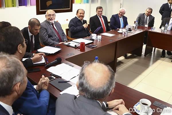 Presidente Daniel se reunió con Comité Ejecutivo de AICO