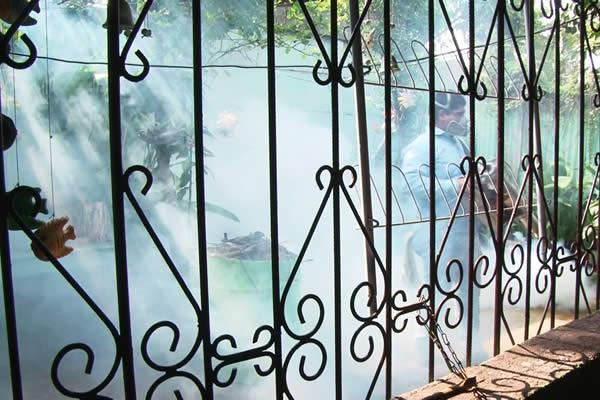 MINSA fumiga viviendas del Barrio Nora Astorga