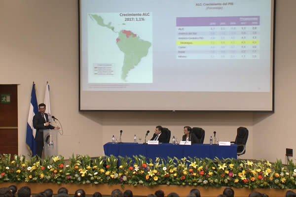 FMI proyecta crecimiento económico de 4.5% en Nicaragua
