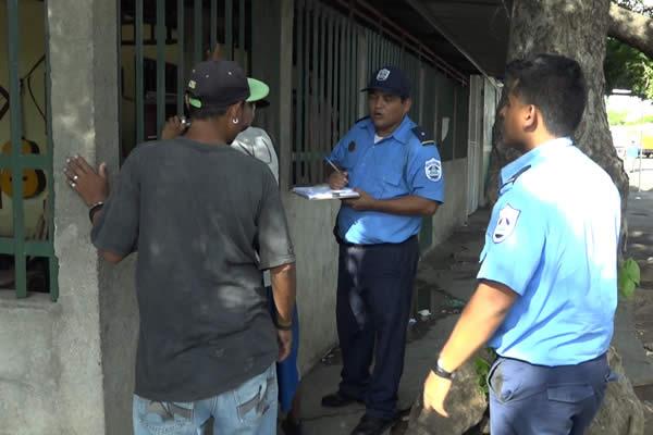 Policía garantiza seguridad ciudadana en los barrios capitalinos