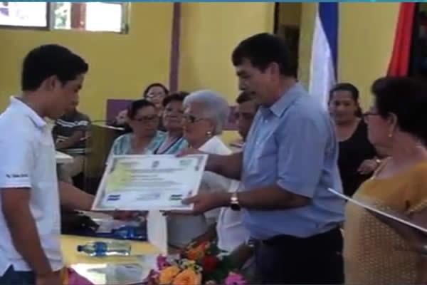 20 Matagalpinos fueron reconocidos como orgullos del municipio