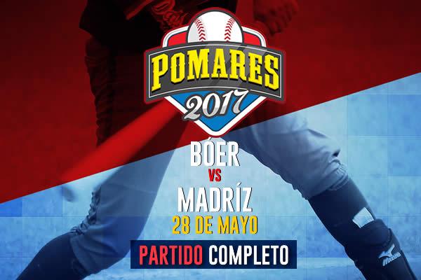 Bóer vs. Madriz - [Partido Completo] – [28/05/17]