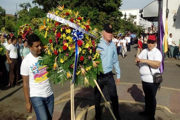 León dice presente al comandante Carlos Fonseca
