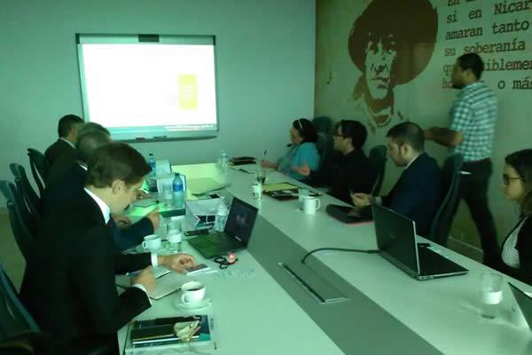 Representantes de Pro Nicaragua se reúne con Empresa inversionista Francesa Bollore Sports