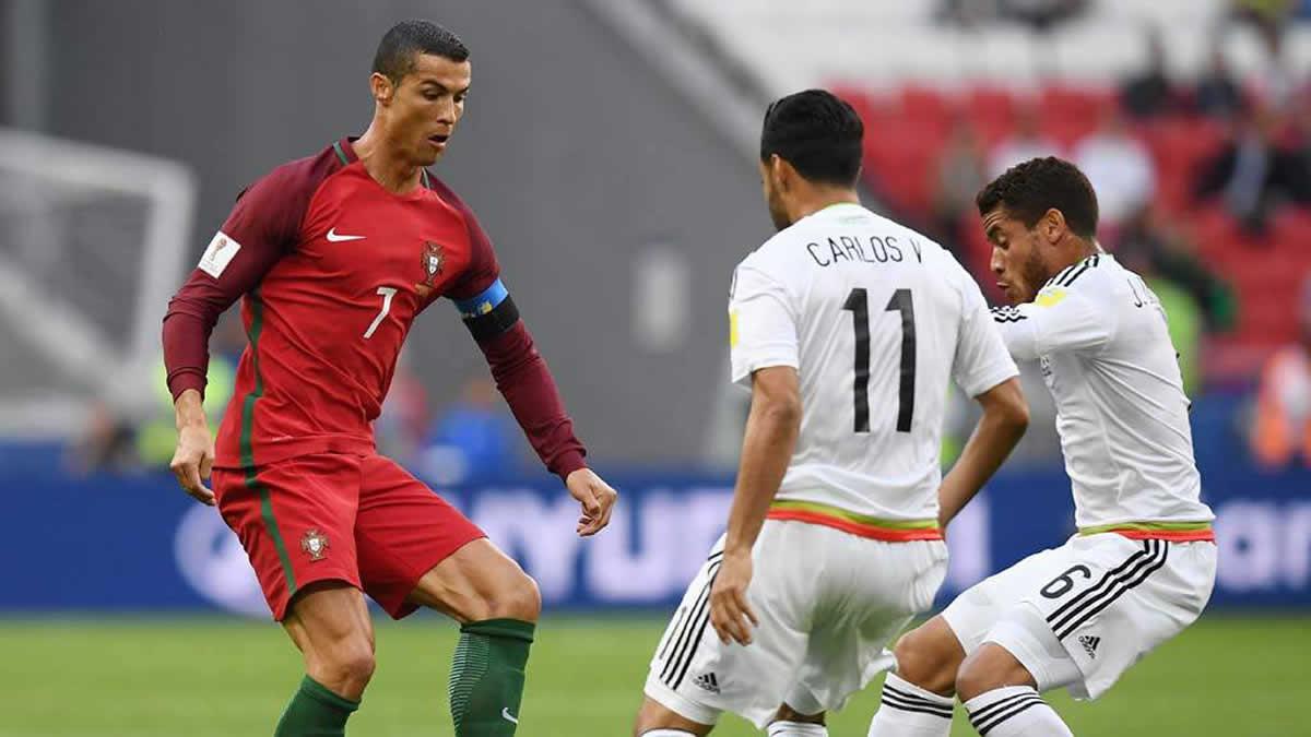 Portugal ganó por la cabeza de Cristiano — Copa Confederaciones
