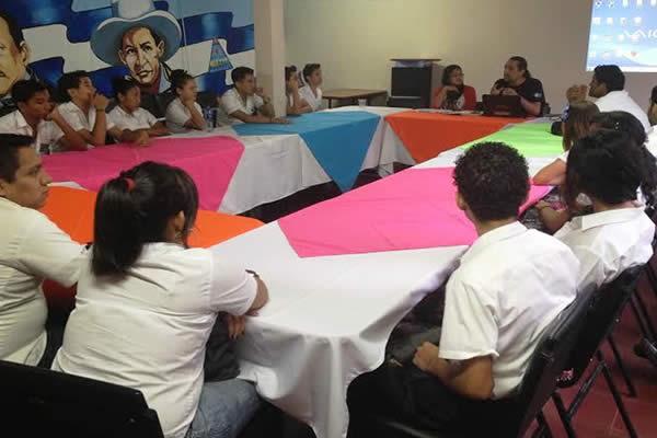 Realizan encuentro de juventud sandinista de los  centros tecnológicos