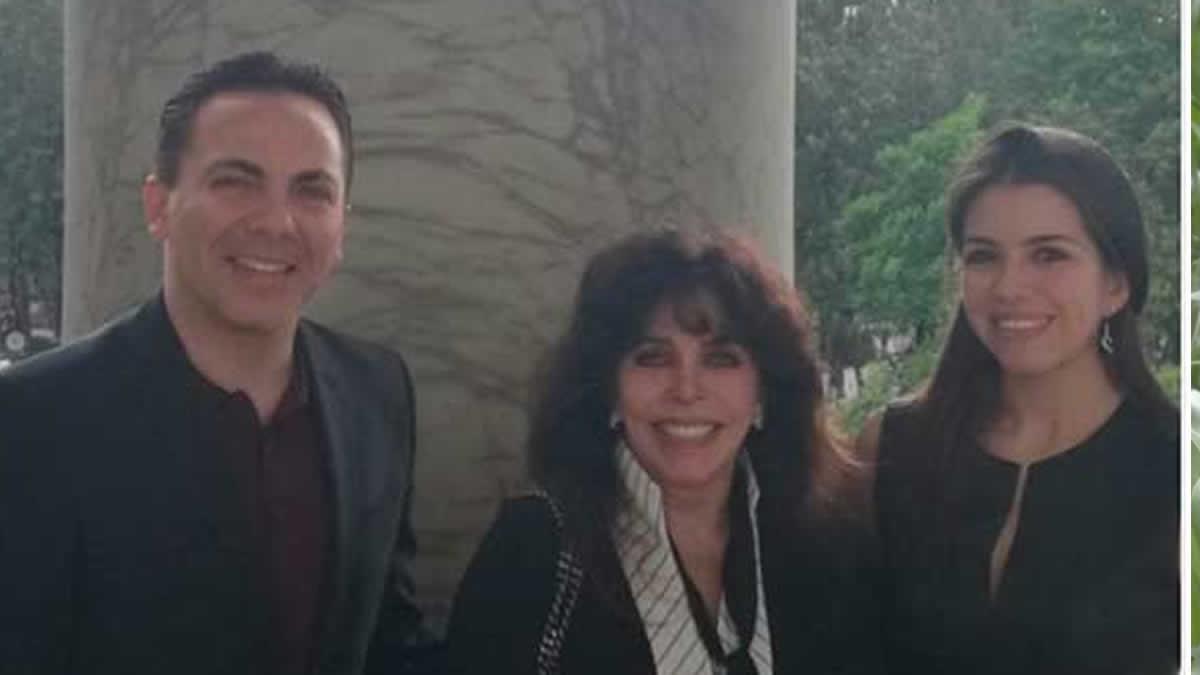 Verónica Castro finalmente conoció a la nueva esposa de Cristian — Fotos