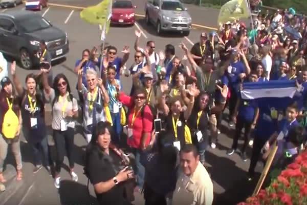 """Cientos se reúnen para el lanzamiento de """"1 Nación 1 Día"""""""