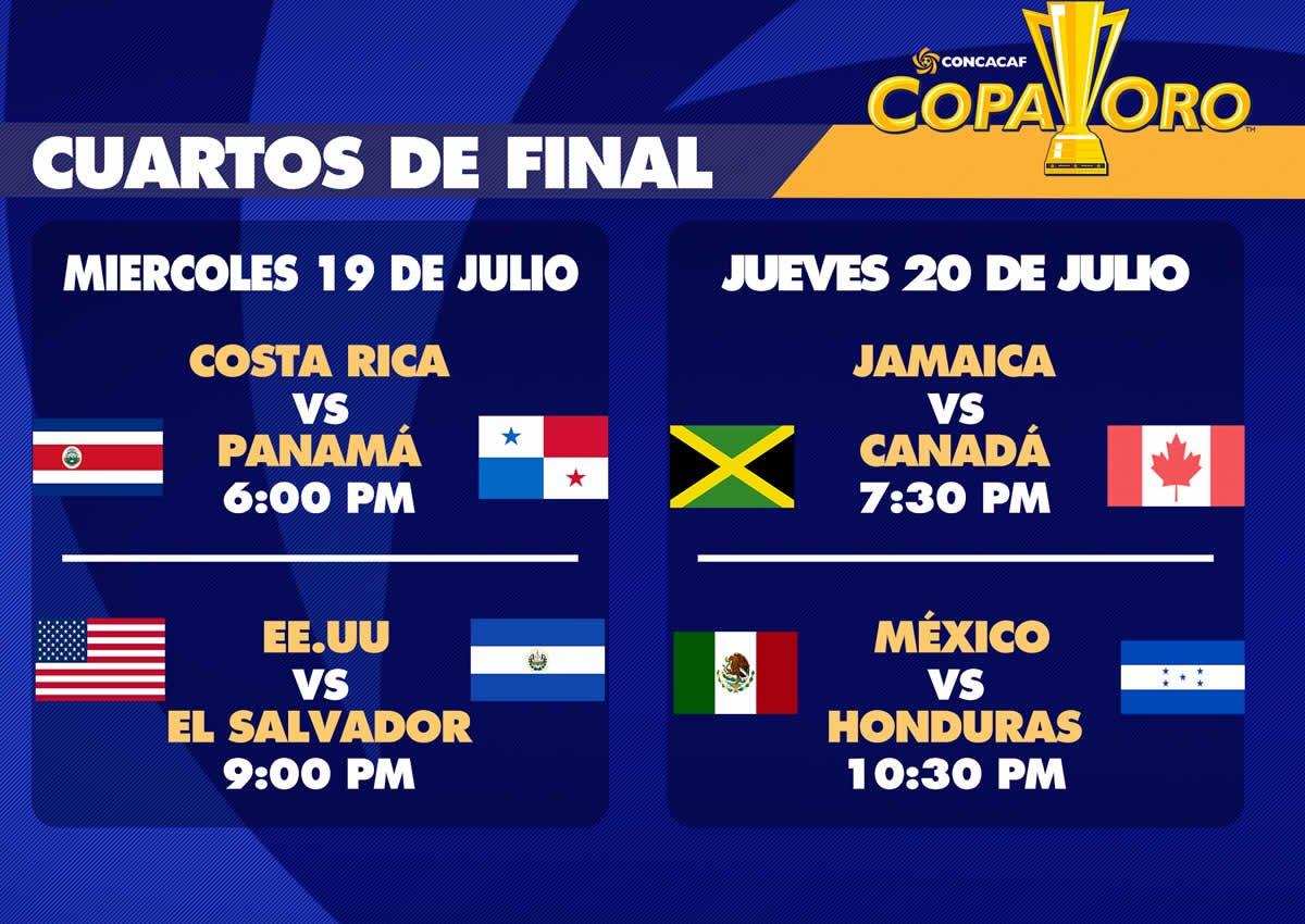 Cuartos de Final: México vs Honduras Copa Oro 2017