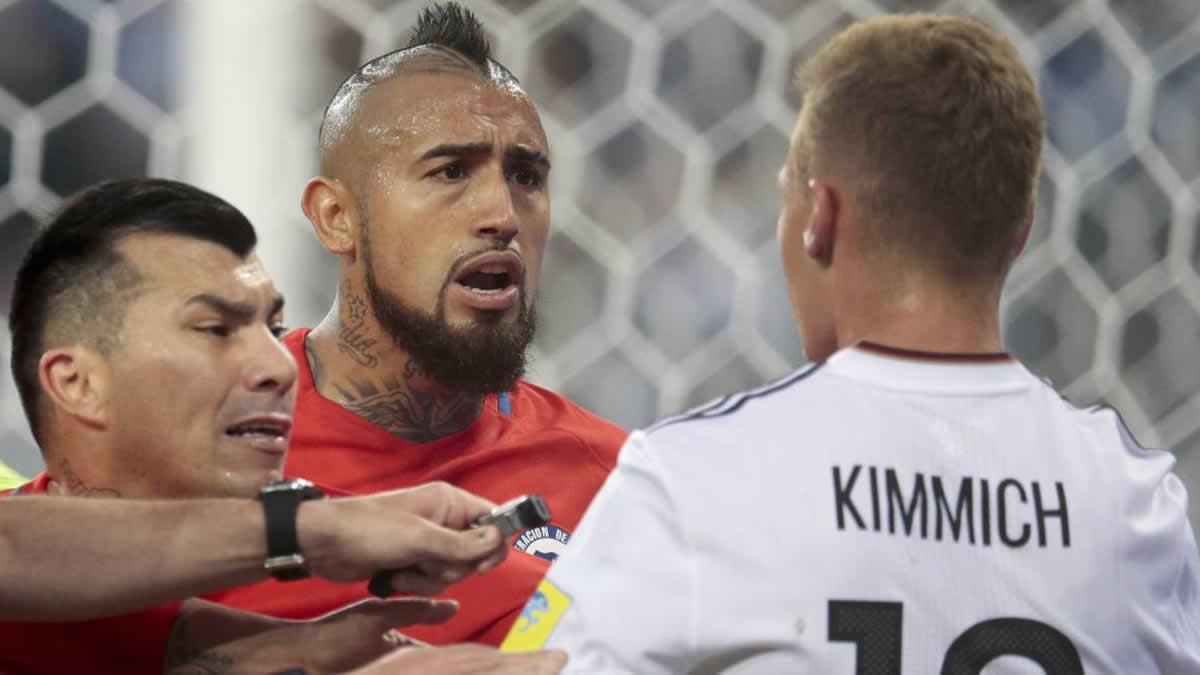 Arturo Vidal desvela qué le dijo a Kimmich durante el partido