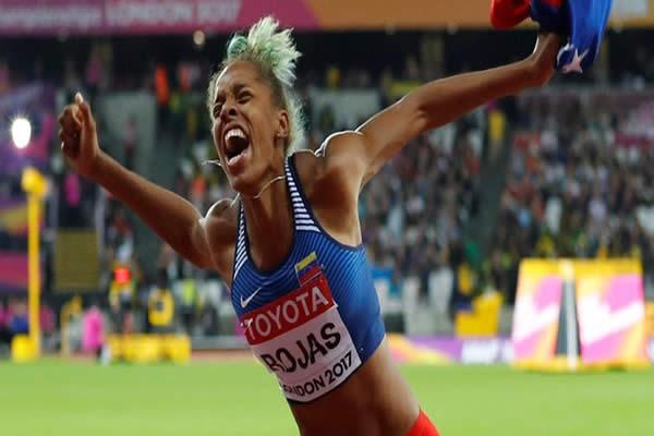 Yulimar Rojas logró su presea dorada en Mundial