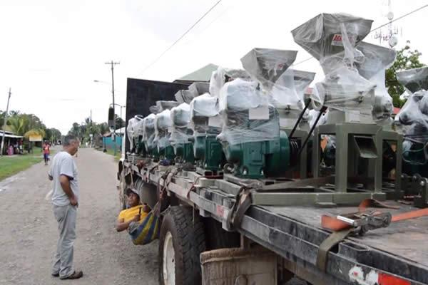 Pobladores del Caribe Sur tendrán trillos portátiles para arroz