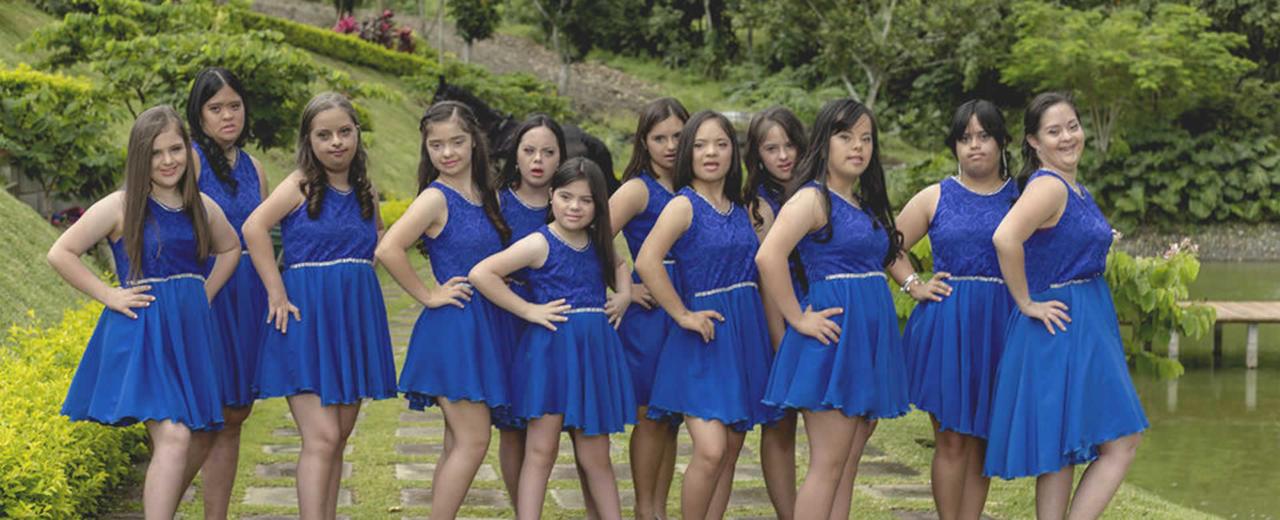 Blue Rose Princess, primer certamen de belleza para jóvenes con Síndrome de Down