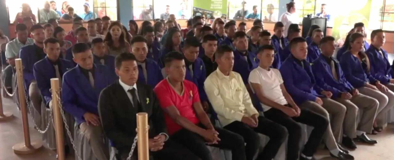 Jóvenes se certifican como Técnicos Forestales en Estelí