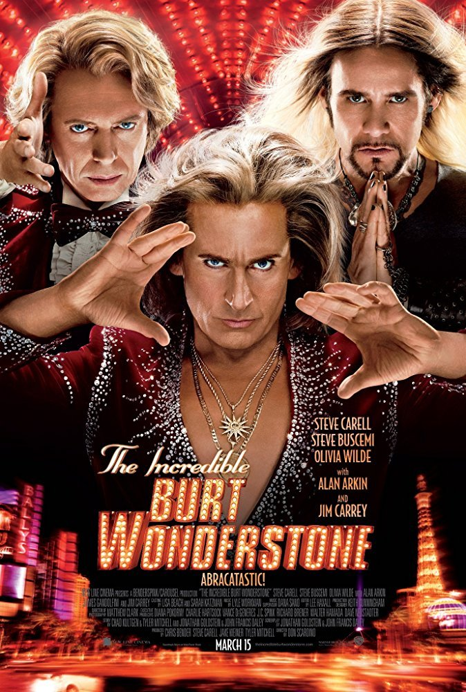 Cine del 13 - The Incredible Burt Wonderstone