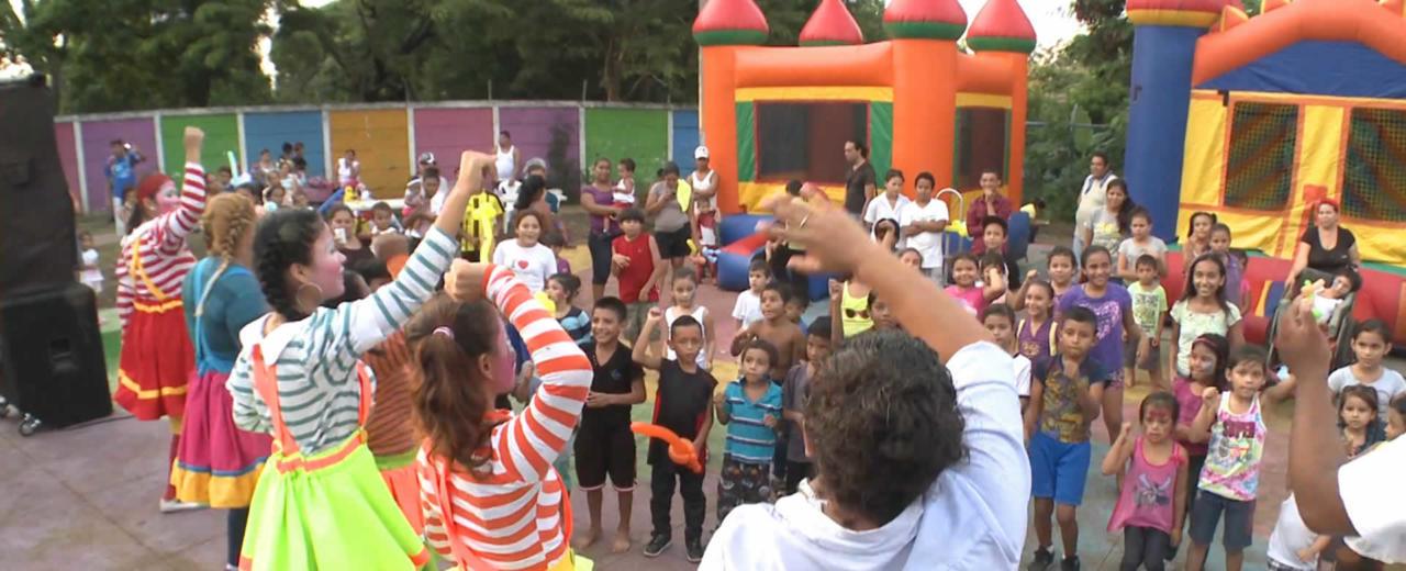 Grandes y chicos disfrutaron de una tarde familiar en el Barrio Macaralí