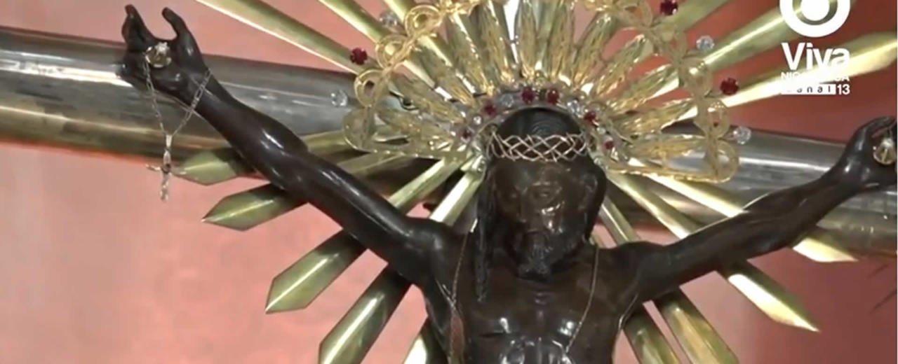 El Sauce celebró procesión y eucaristía en honor al Señor de Esquipulas