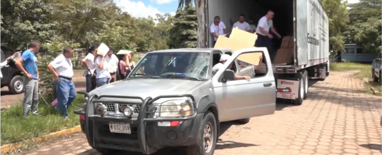 Inicia la distribución del material electoral auxiliar en Estelí