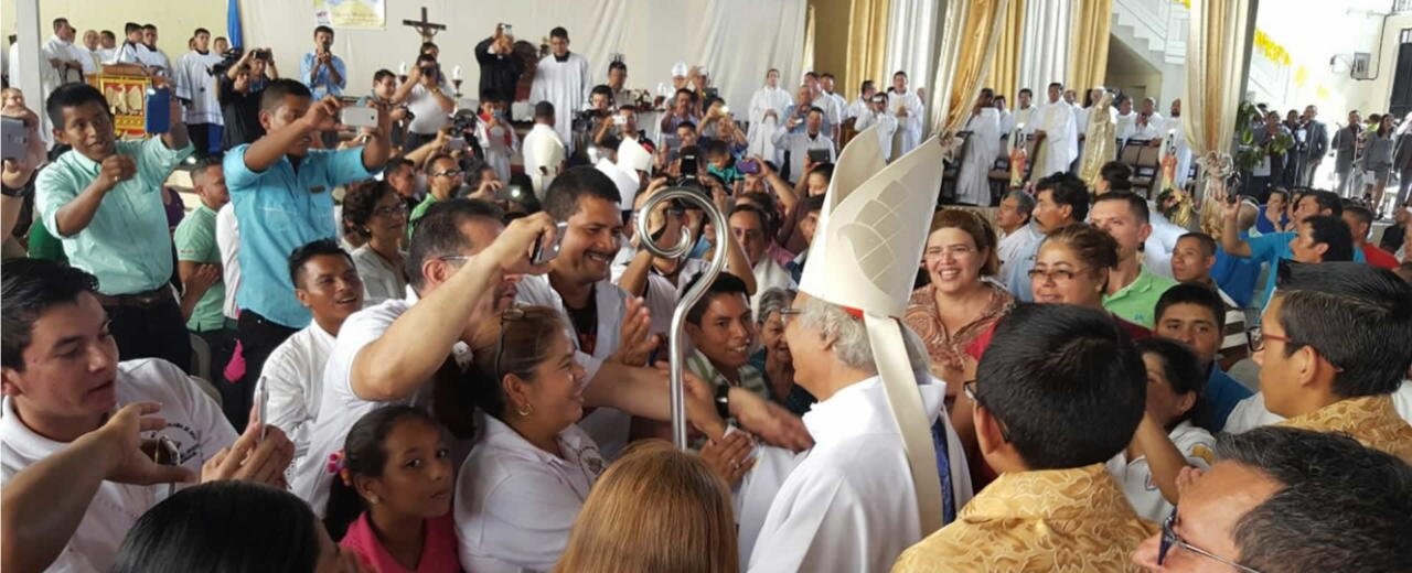 Cardenal Leopoldo Brenes clausura Fiesta Misionera 2017 en Matagalpa
