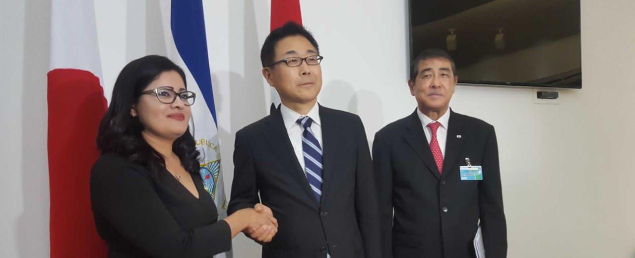 Vicepresidente del JICA, Kazuhiko Koshikawa, llega a Nicaragua