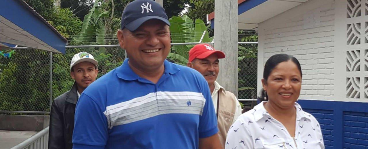 Candidat@s FSLN visitan Ciudad Antigua con proyectos sociales en pro de las familias