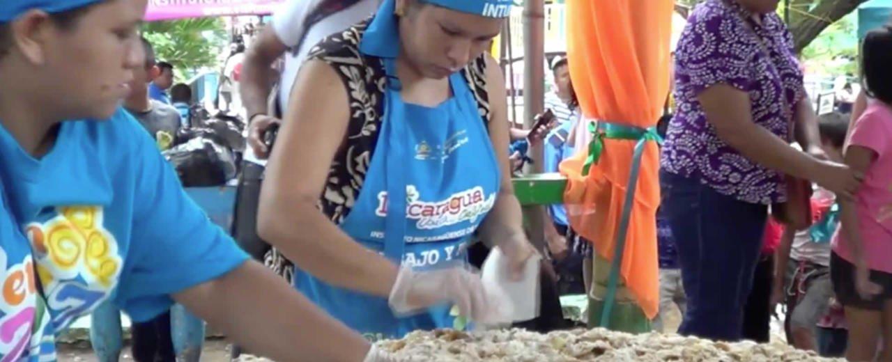 Realizan Quinto Festival de la Enchilada en Boaco