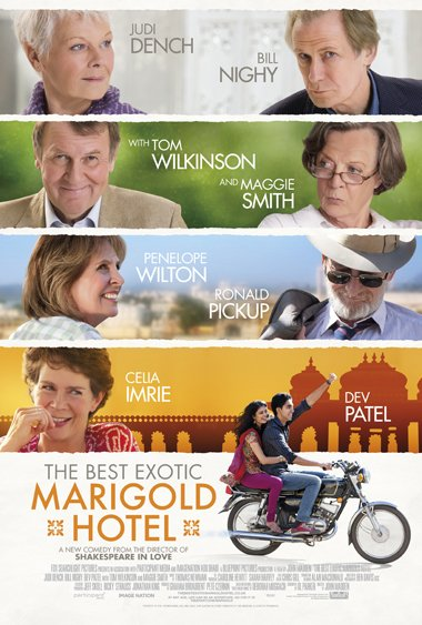 Cine del 13 - The Best Exotic Marigold Hotel