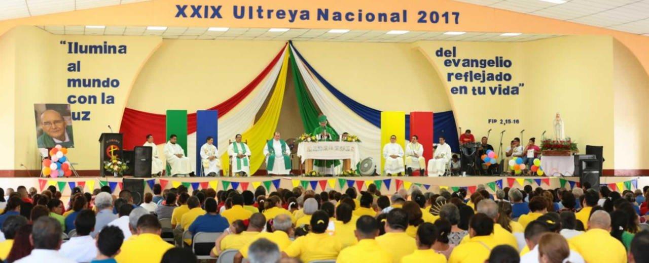 Cardenal Brenes presidió Eucaristía en el XXIX Encuentro Nacional ULTREYA 2017