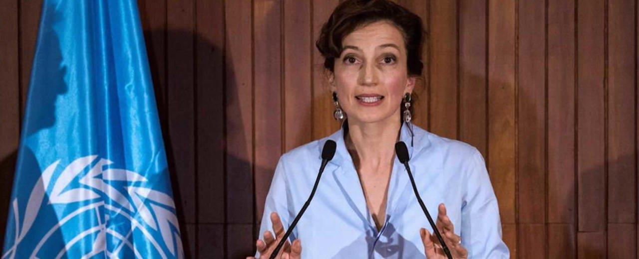 Audrey Azoulay, electa como nueva Directora General de la UNESCO