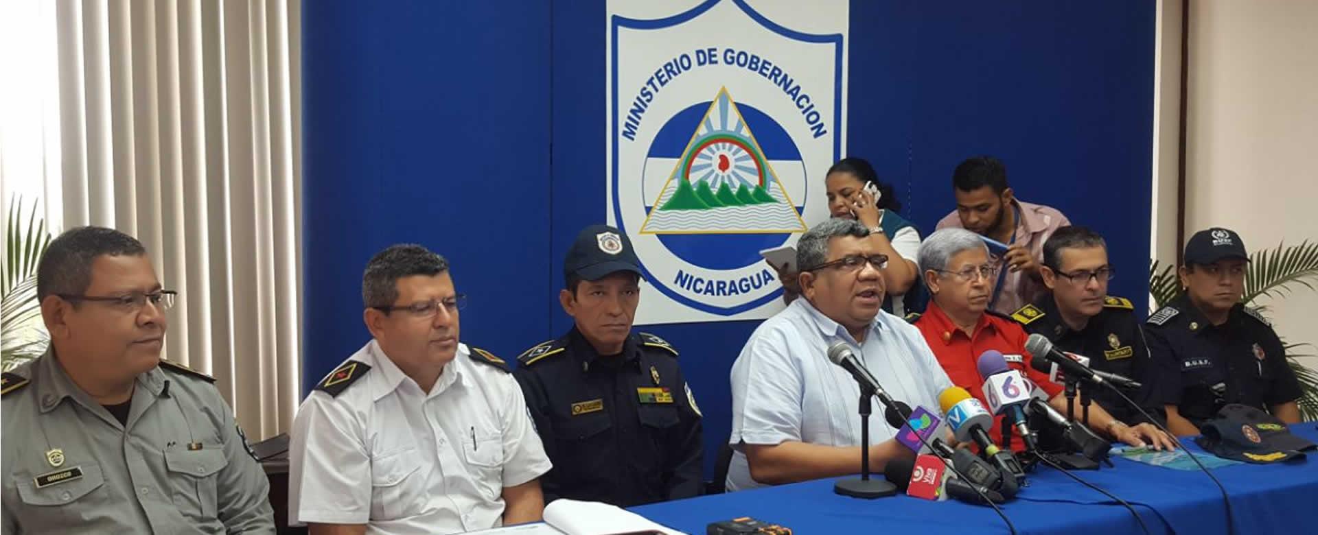 ministerio de gobernaci n presenta el plan del trabajo a