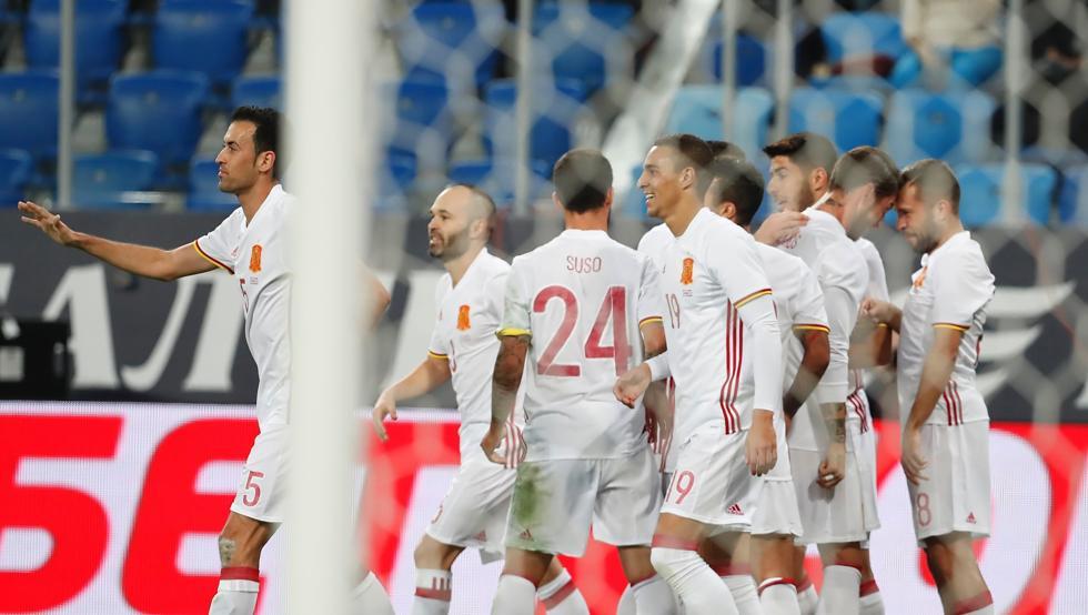 España invicta de cara al Mundial Rusia 2018
