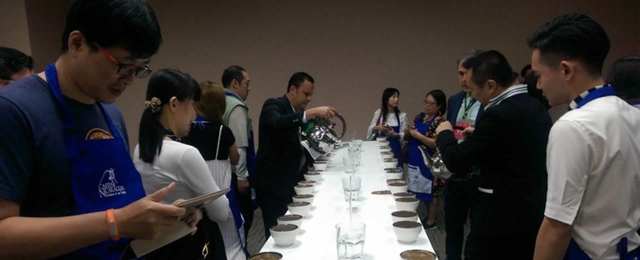 Nicaragua participa en la Exhibición Internacional de Té, Café y Vino