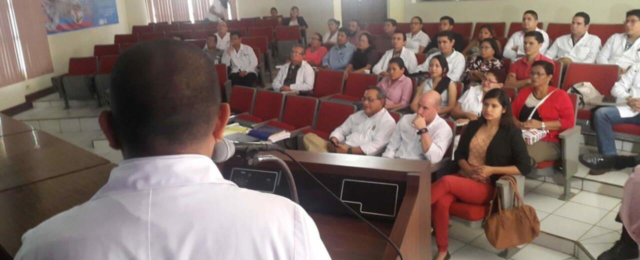 Capacitación a los médicos y enfermeras de los juegos centroamericanos