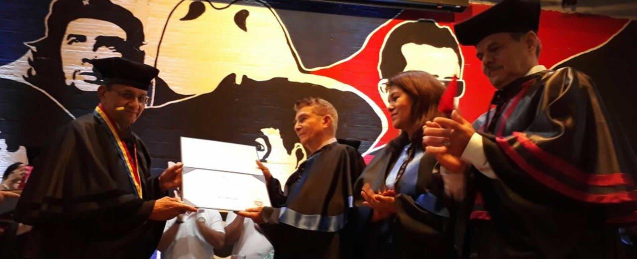 UNAN-León rinde homenaje a Otto de la Rocha y Georgina Valdivia