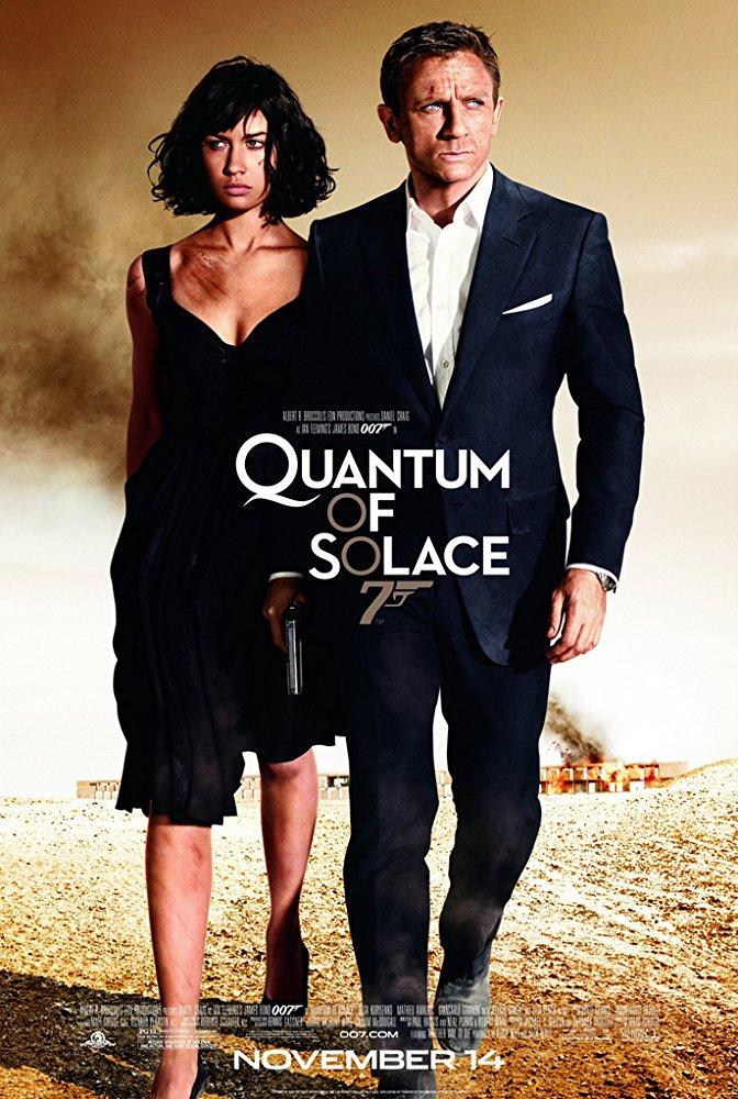 Martes de Adrenalina - Quantum of Solace