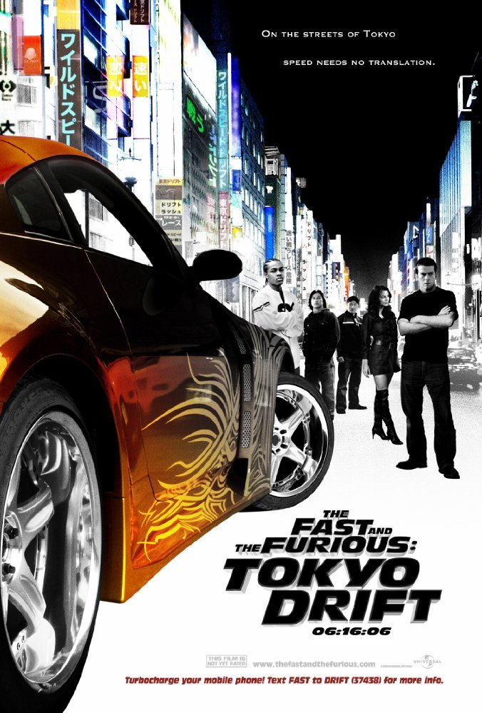 Cine del 13 - The Fast and the Furious: Tokyo Drift