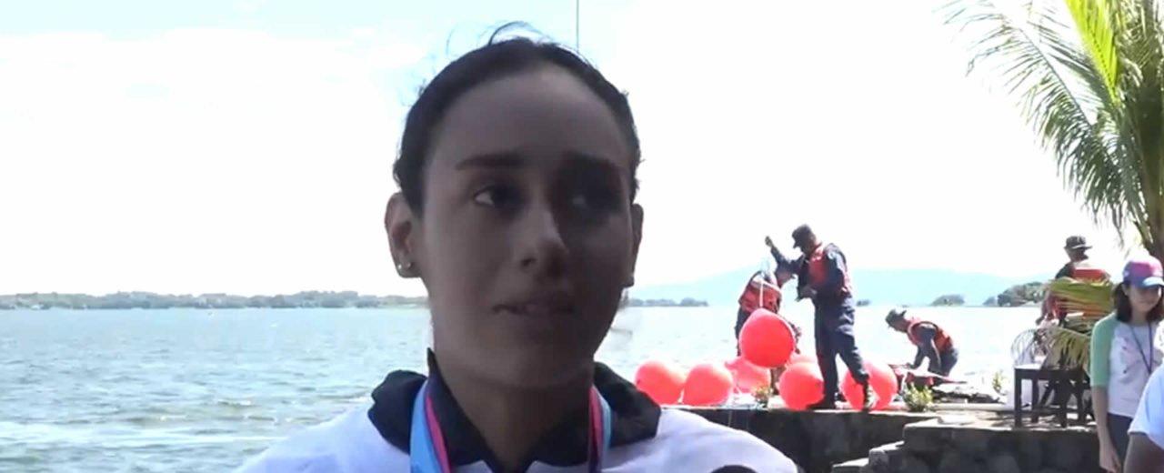 Emotiva final de Natación Abierta en los Juegos Centroamericanos