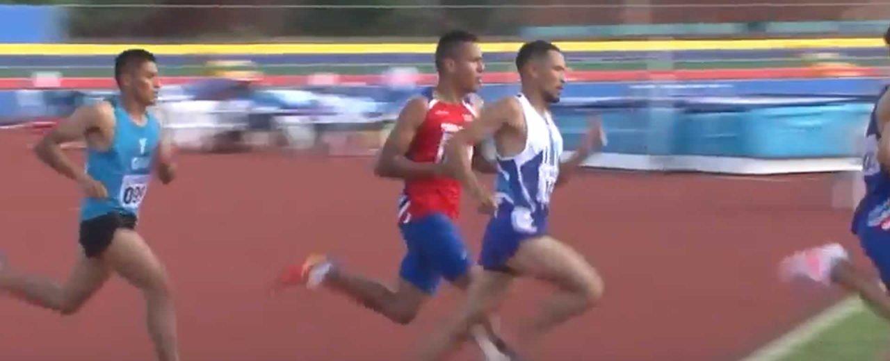 El nicaragüense Erick Rodríguez obtiene Medalla de Bronce en Atletismo