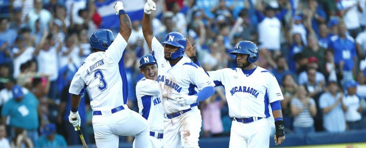 La selección nicaragüense de béisbol es campeona invicta en los JCA Managua 2017