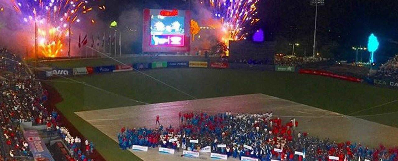 Clausura de los XI Juegos Centroamericanos Managua, 2017