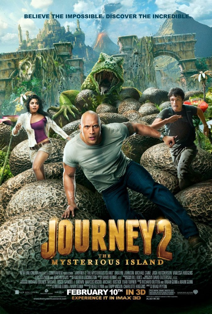 Cine del 13 - Journey 2: The Mysterious Island