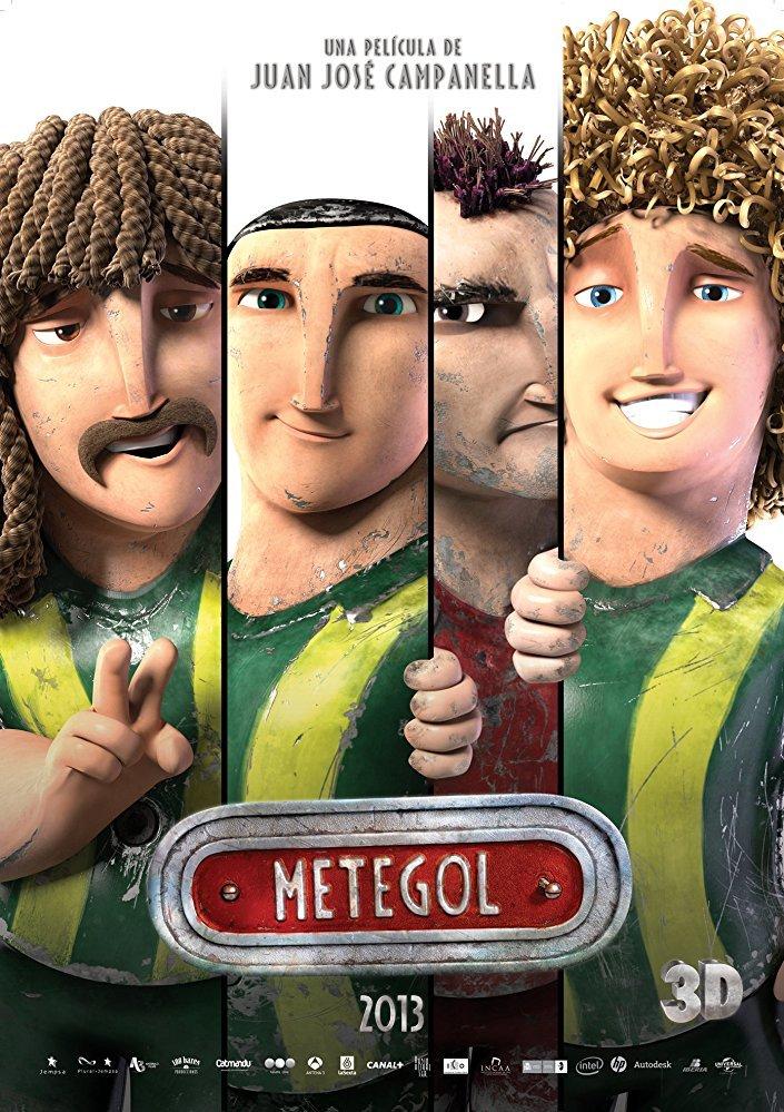 Cine Animado - Metegol